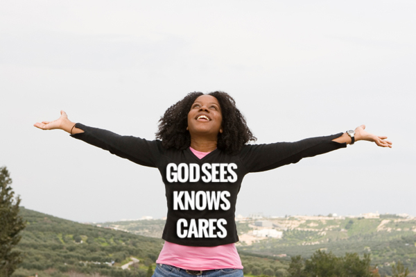 GOD-SEES-KNOWS-CARES