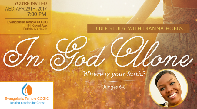 Invitation: Prayer & Bible Study with Dianna Hobbs