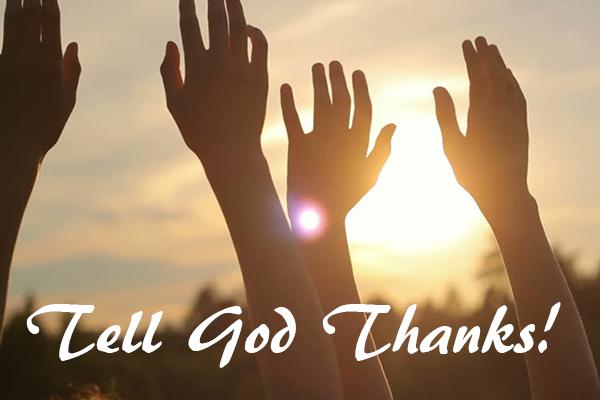 Tell-God-thanks