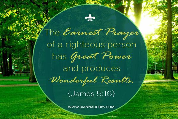 Earnest-prayer copy