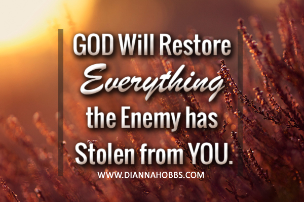 God Will Restore EVERYTHING - Your Daily Cup of Inspiration!