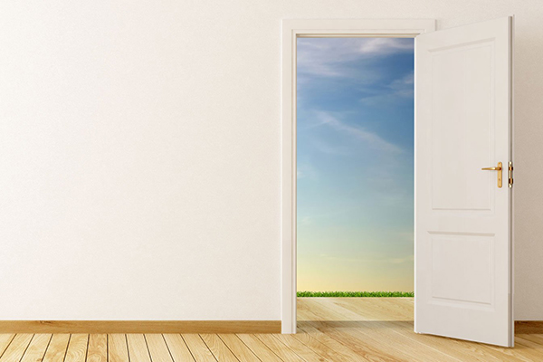 God is opening doors for you